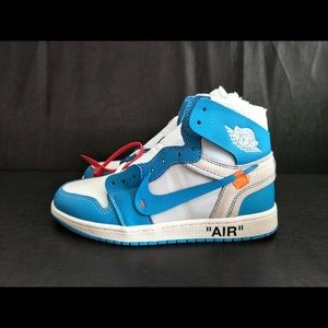 Air Jordan 1 Off-White UNC size 9